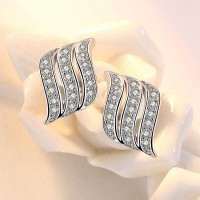Сребърни обеци - Ангелски Размах