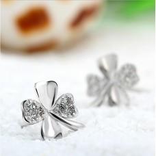 Сребърни обеци - Детелина Ежедневни обеци изображение