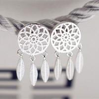 Сребърни обеци - Мечта