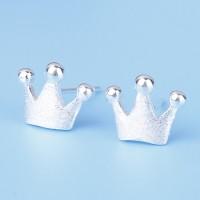 Сребърни обеци - Принцеса