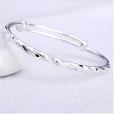 Сребърна гривна - Каприз снимка