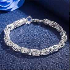 Сребърна гривна - Венета Гривни изображение