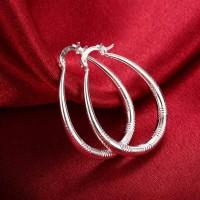 Сребърни обеци - Бохемия