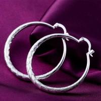 Сребърни обеци - Персида
