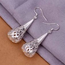 Сребърни обеци - Круша Официални обеци изображение
