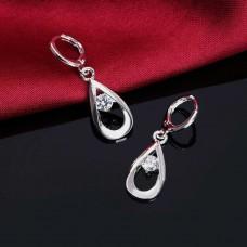 Сребърни обеци - Самара Официални обеци изображение